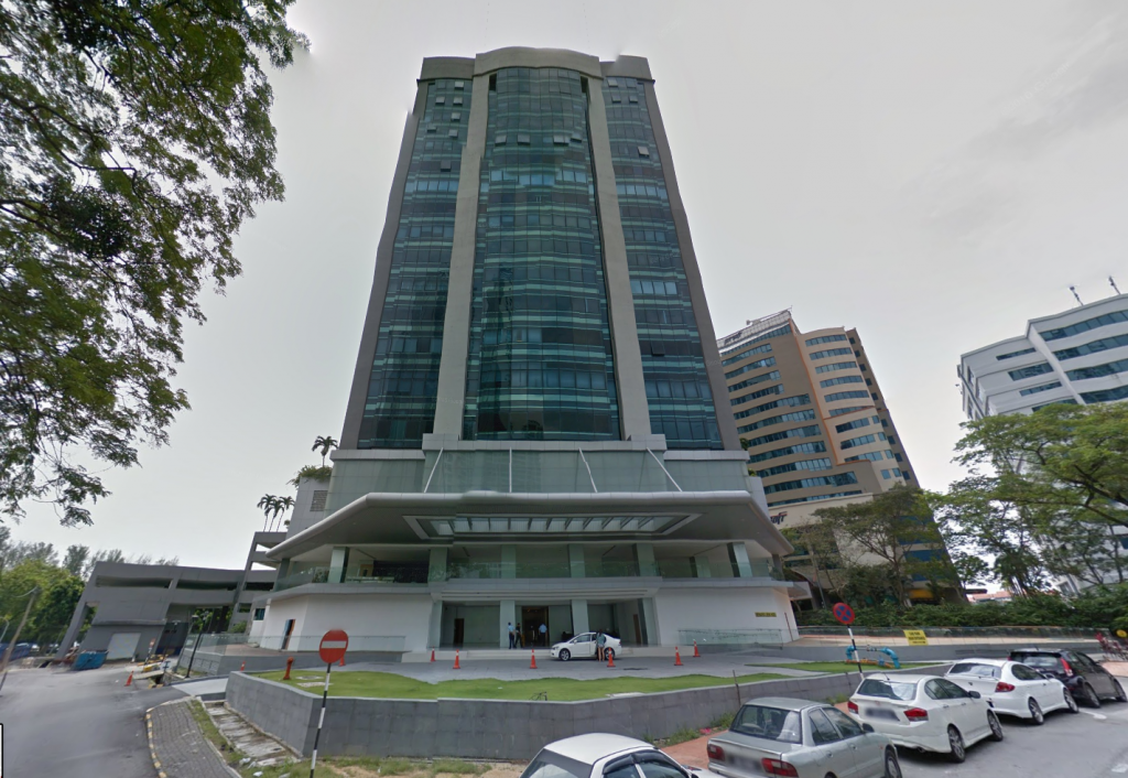 Menara Lien Hoe offers Grade A Office Space for Rent along Persiaran Tropicana
